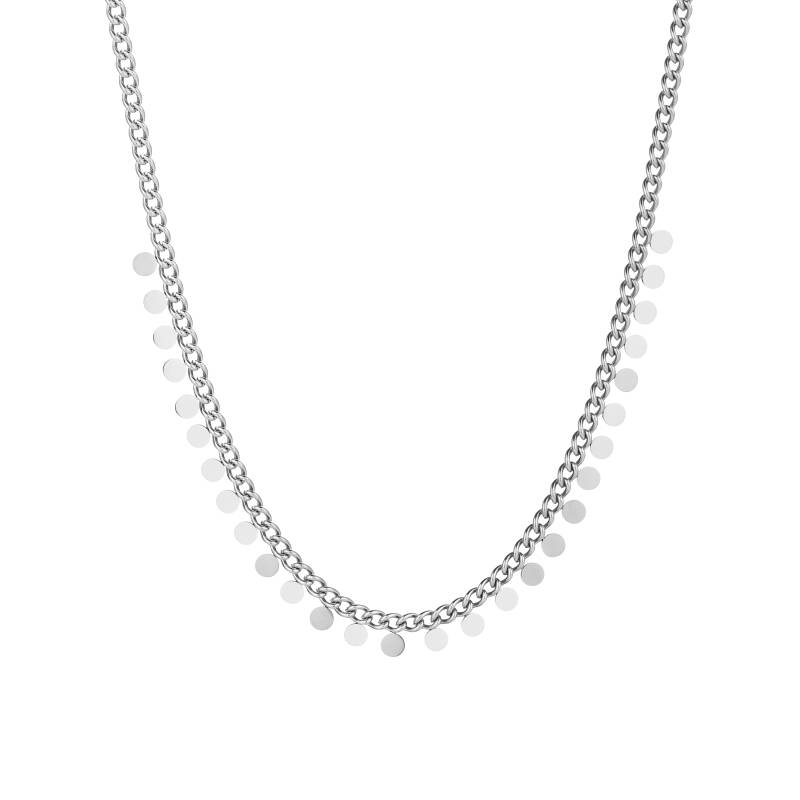 Necklace small coins | zilver