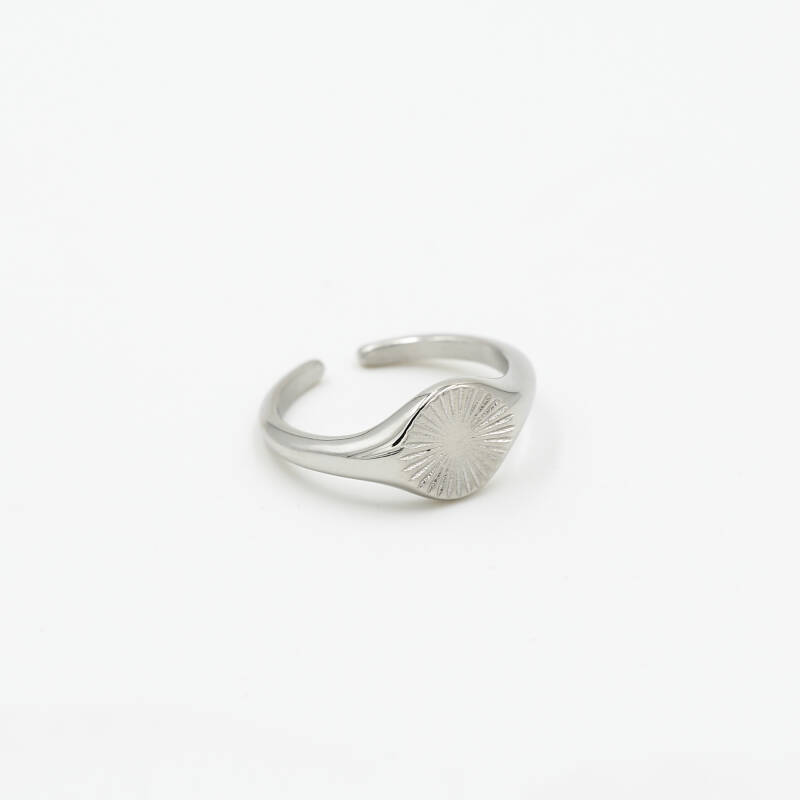 Ring round pattern | zilver