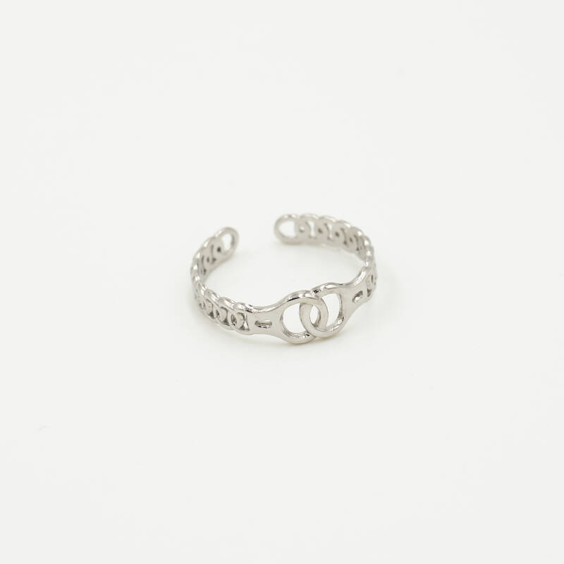 Ring intertwined | zilver