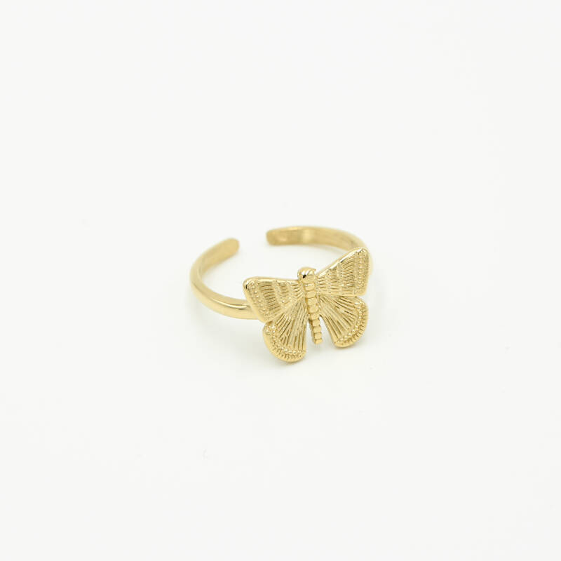 Ring butterfly | goud