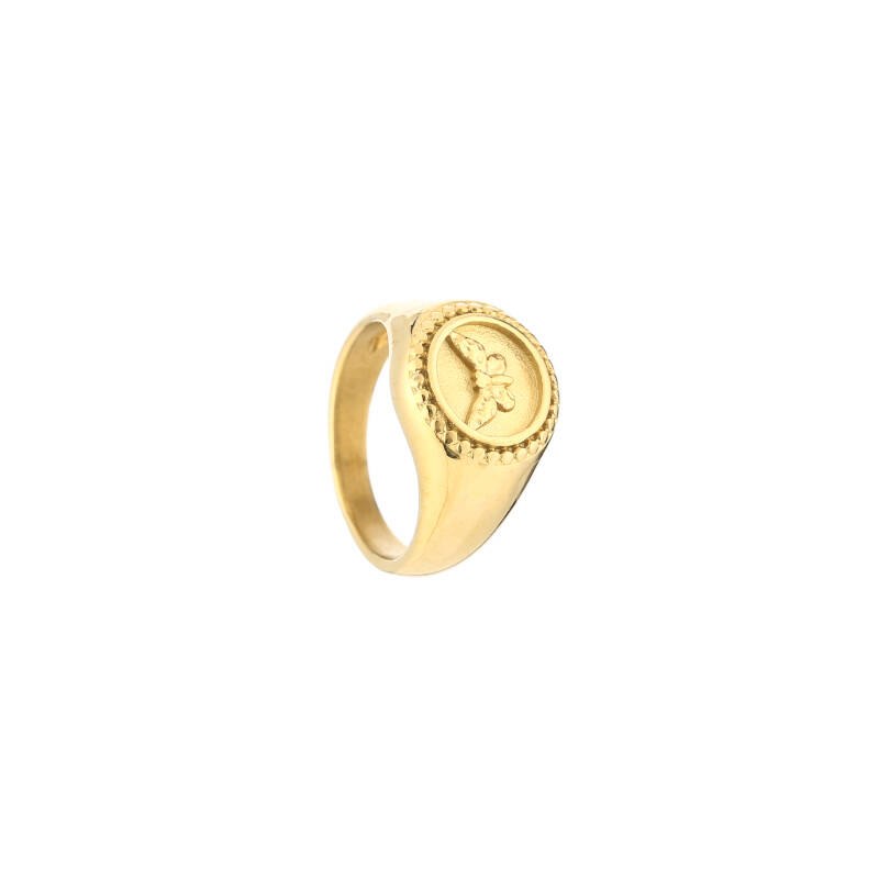 Ring round butterfly | goud