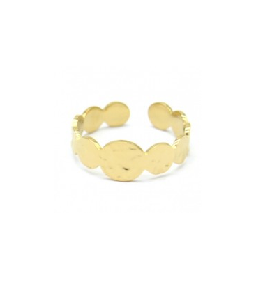 Ring rounds | goud