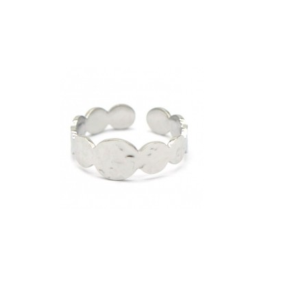 Ring rounds | zilver