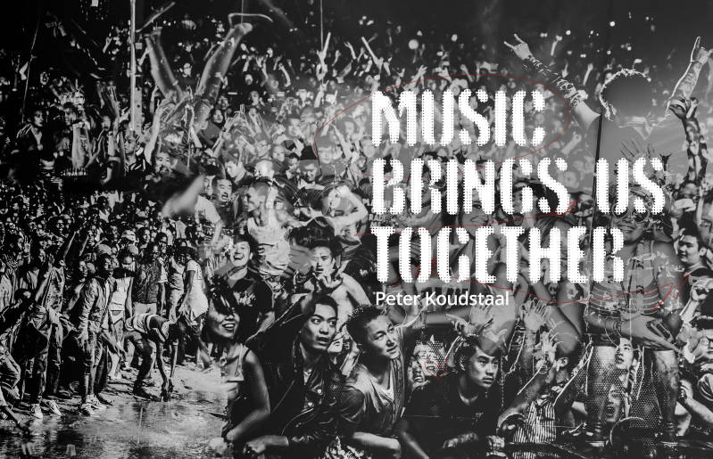 MUSIC BRINGS US TOGETHER (black & white edition), English (PRE-ORDER)