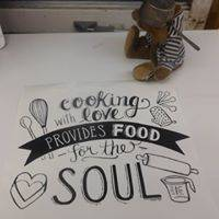 Sticker Cooking with love