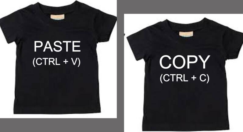 shirts voor 2 ling copy and paste