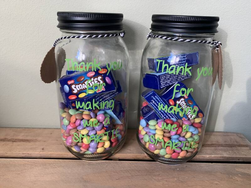 Pot -Thank you for making me a SMARTIE