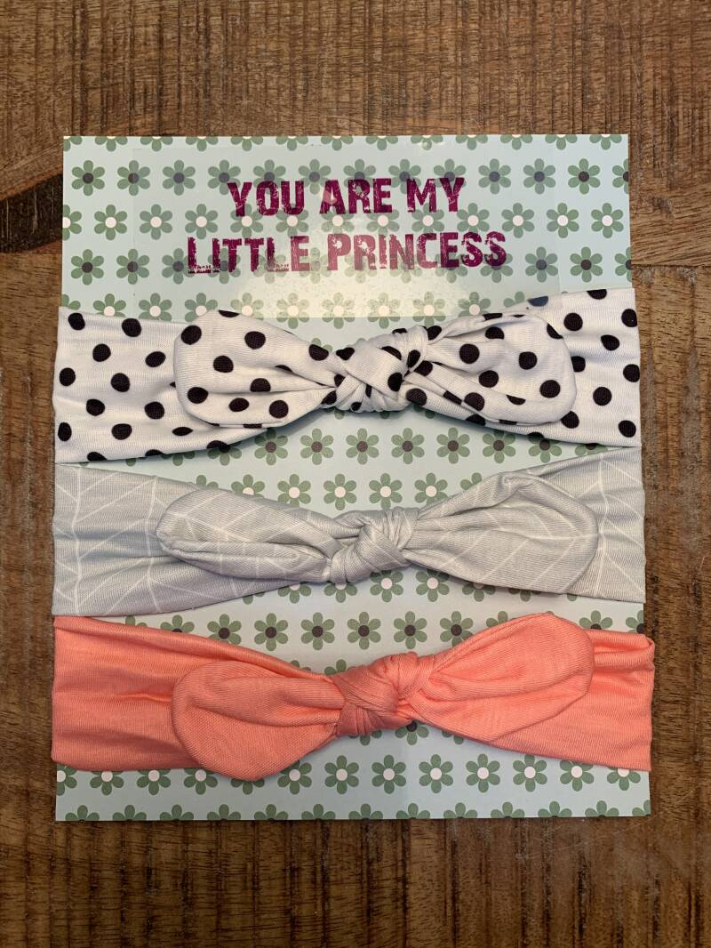 3x Hoofdband baby - you are my Little Princess