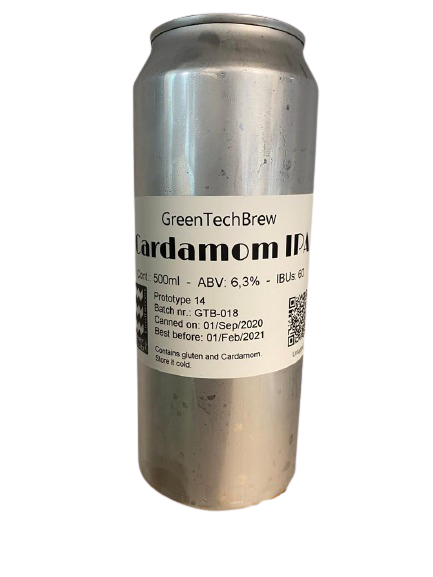 Prototype 14 - Spice IPA (with Cardamom) - 500ml Can.