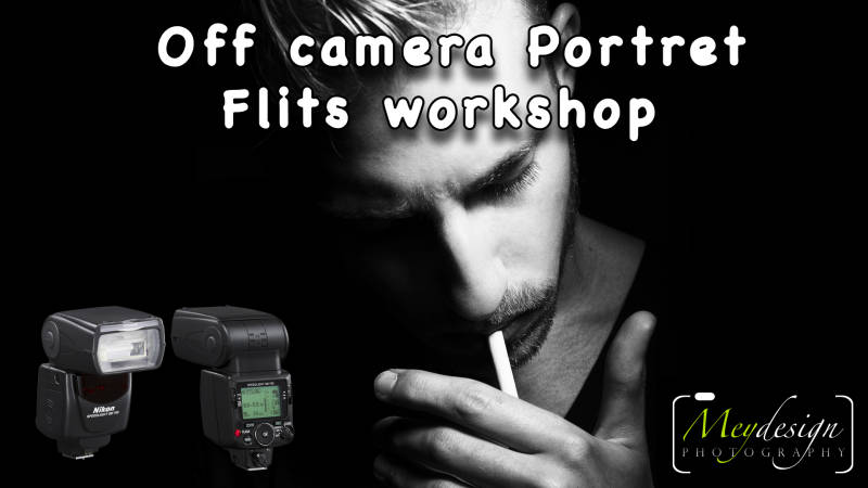 Off camera Portret Flits workshop