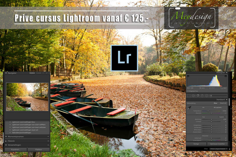 Prive cursus Lightroom
