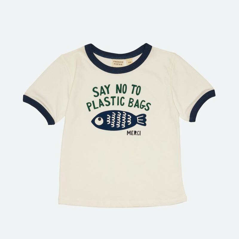 T-shirt No to Plastic Bags