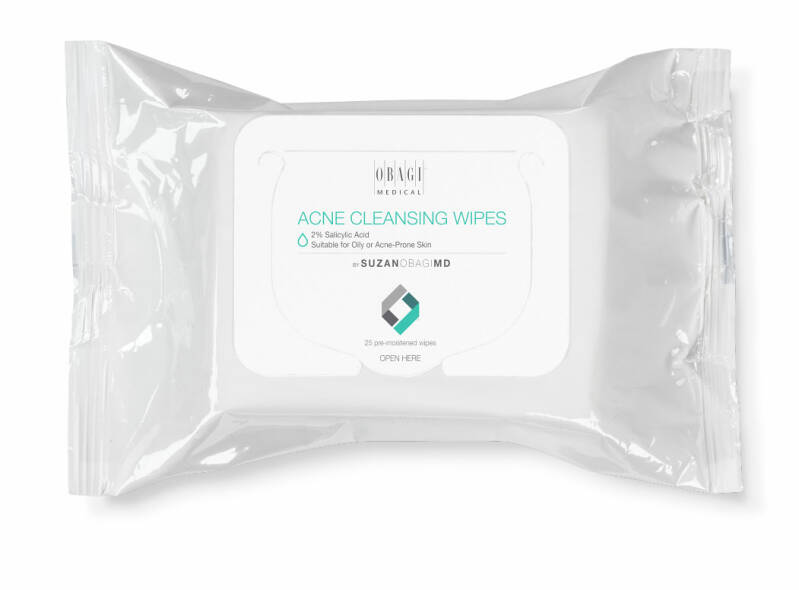 CLEANING WIPES OILY OR ACNE PRONE SKIN