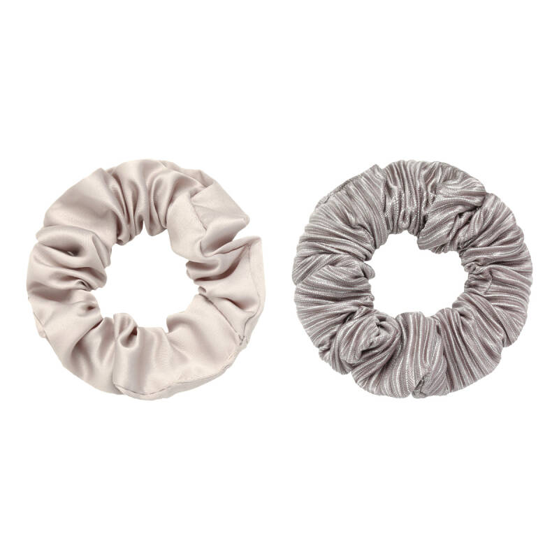 Scrunchie set of two greige