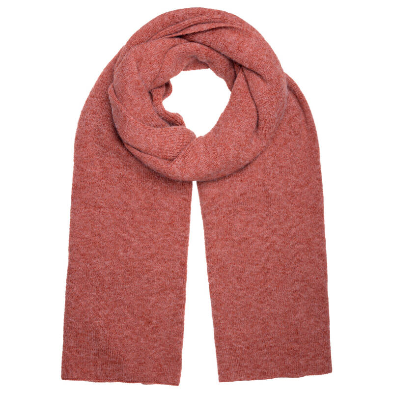 Sjaal knitted rood