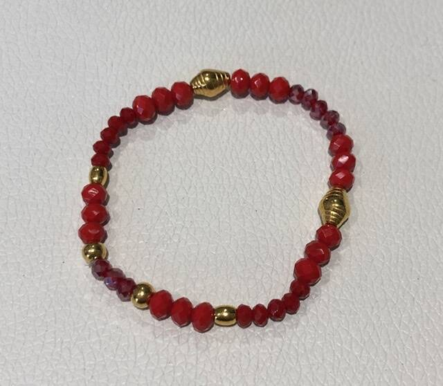 Jewelz Bar armband rood