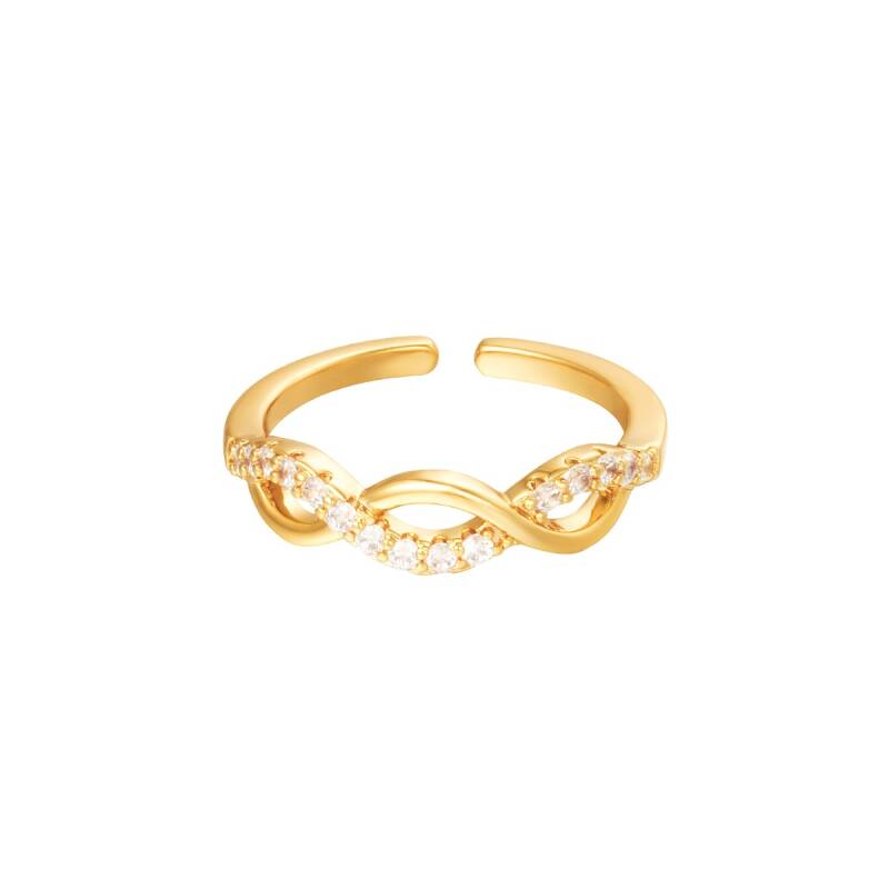 Ring angelic goud