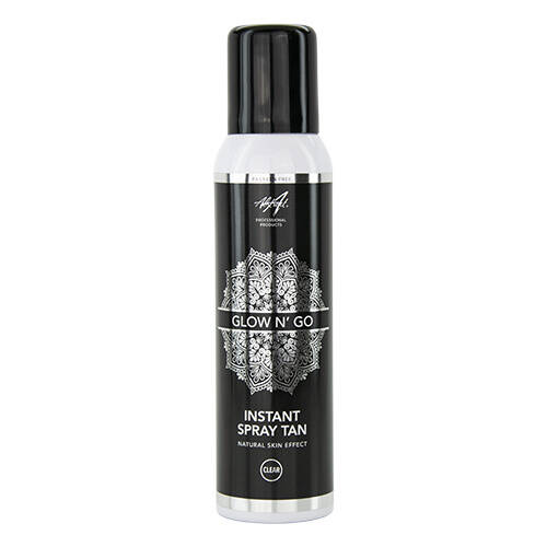 Abstract Glow N' Go Instant Spray Tan Clear 125 ml