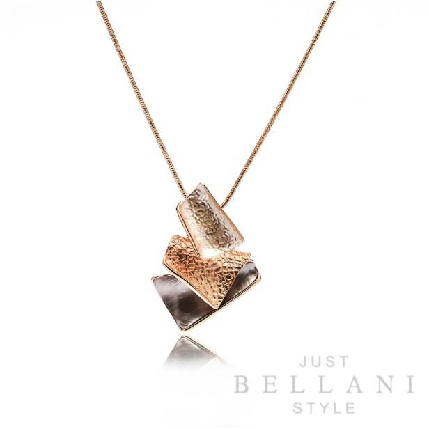 Just Bellani Style ketting NE00445 rosé
