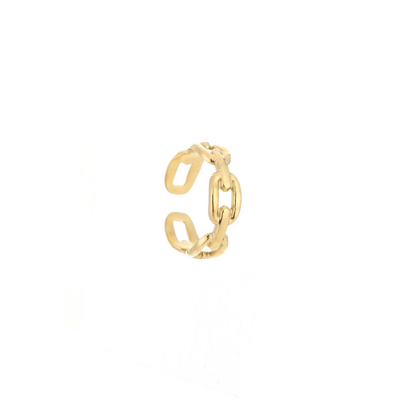 Linked Ring Gold