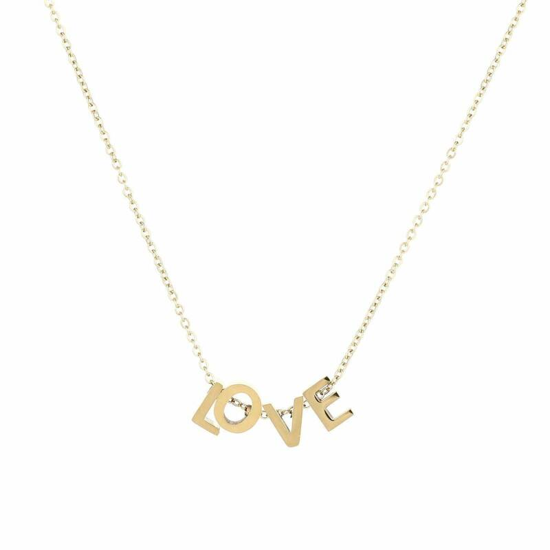 Letters Of Love Gold