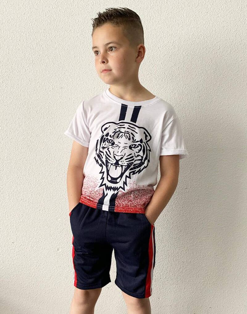 Tiger jongens set(Short+T-shirt)