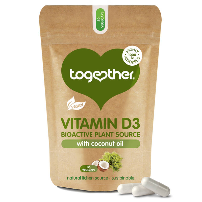 Together Vegan Vitamin D3 30 capsules