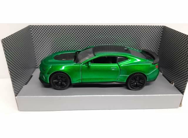 2017 Chevrolet Camaro ZL1, green