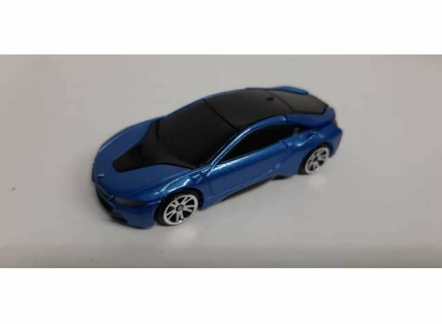 2018 BMW i8 Coupe, blue