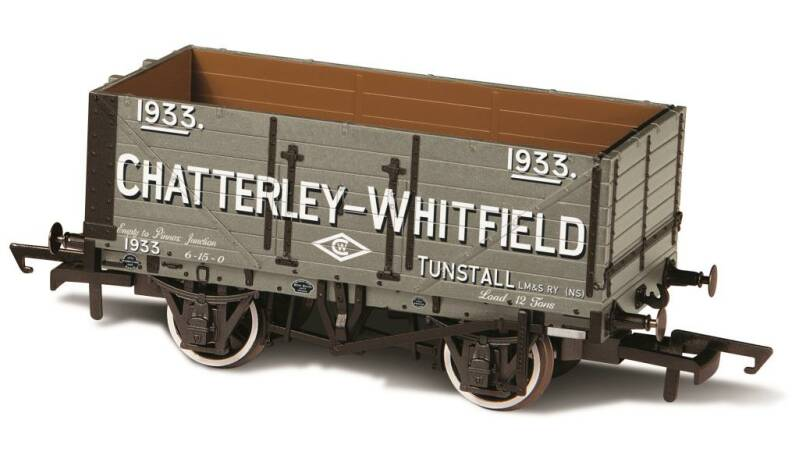 7 PLANK MINERAL WAGON CHATTERLEY - WHITFIELD TUNSTALL No1933
