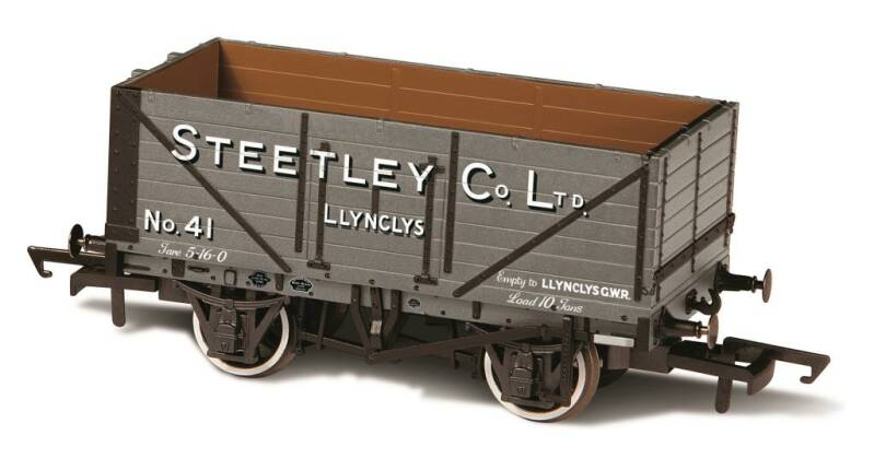 7 PLANK MINERAL WAGON STEETLAY AND CO LLYNCLYS