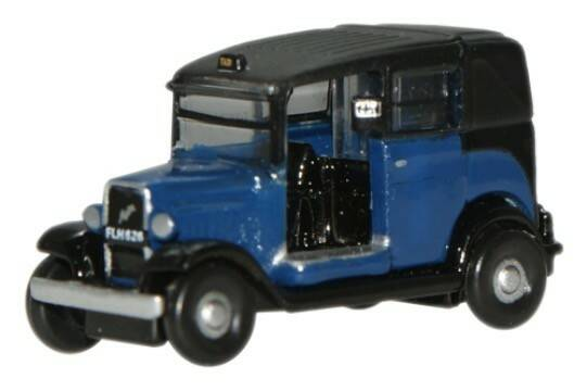 AUSTIN TAXI LOW LOADER 1934 blauw