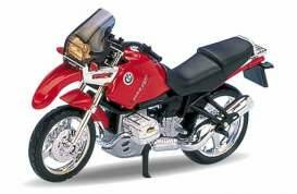 BMW R1100GS, red