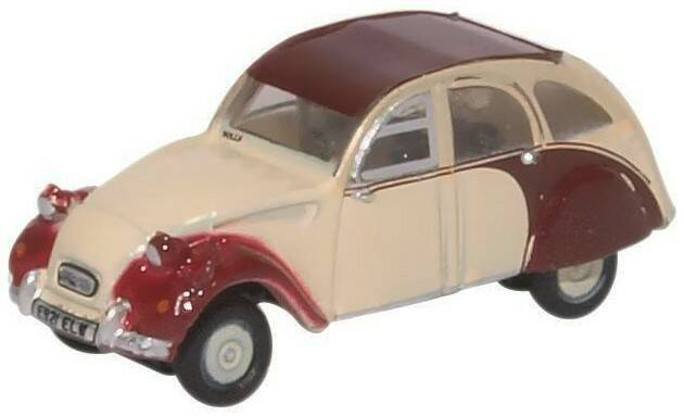 CITROEN 2CV dolly rood