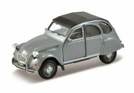 Citroen 2CV closed softtop Diecast