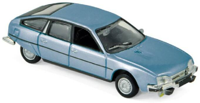 Citroen CX 2400 GTi 1977 blauw metallic