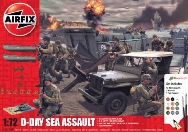 D-DAY 75TH ANNIVERSARY SEA ASSAULT GIFT SET