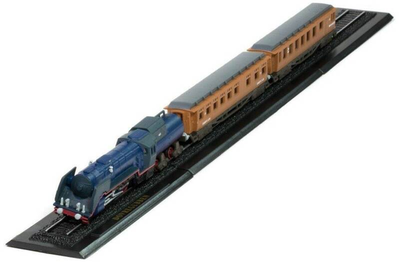 DIVREGUBBEN Z GAUGE - GREAT TRAINS OF THE WORLD