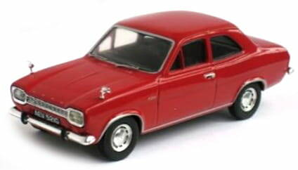 FORD ESCORT MK I knalrood