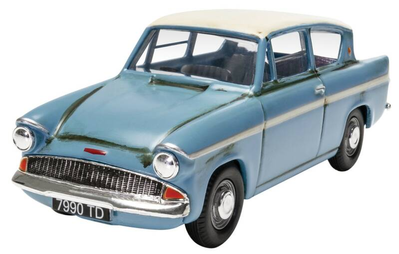 Ford ANGLIA Mr WESLEY'S ENCHANTED FORD ANGLIA - HARRY POTTER AND THE CHAMBER OF SECRETS