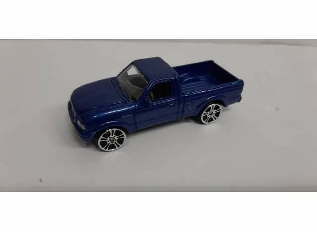 Ford Ranger, blue