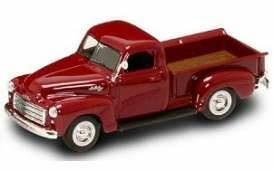 GMC Pick Up, red,