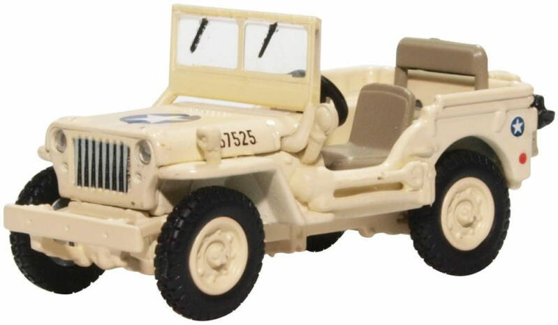 Jeep Willys MB USAAF TUNISIA 1943