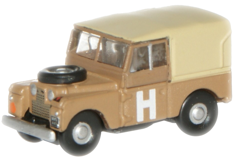 LAND ROVER 88 SERIES 1 MILITARY CANVAS TOP 1948