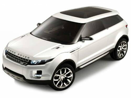 LAND ROVER LRX wit