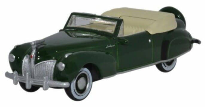 LINCOLN CONTINENTAL CABRIOLET donkergroen