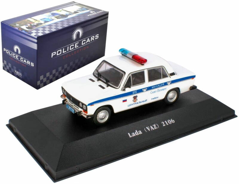 Lada 2106 (VAZ) RUSSIA 1976 - POLICE CAR COLLECTION