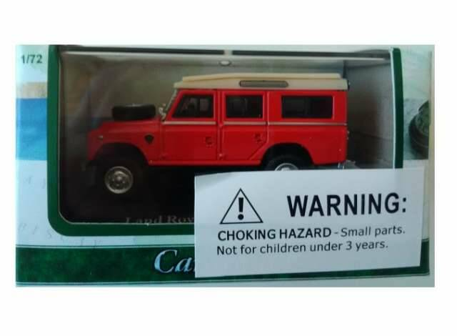 Land Rover series II, red