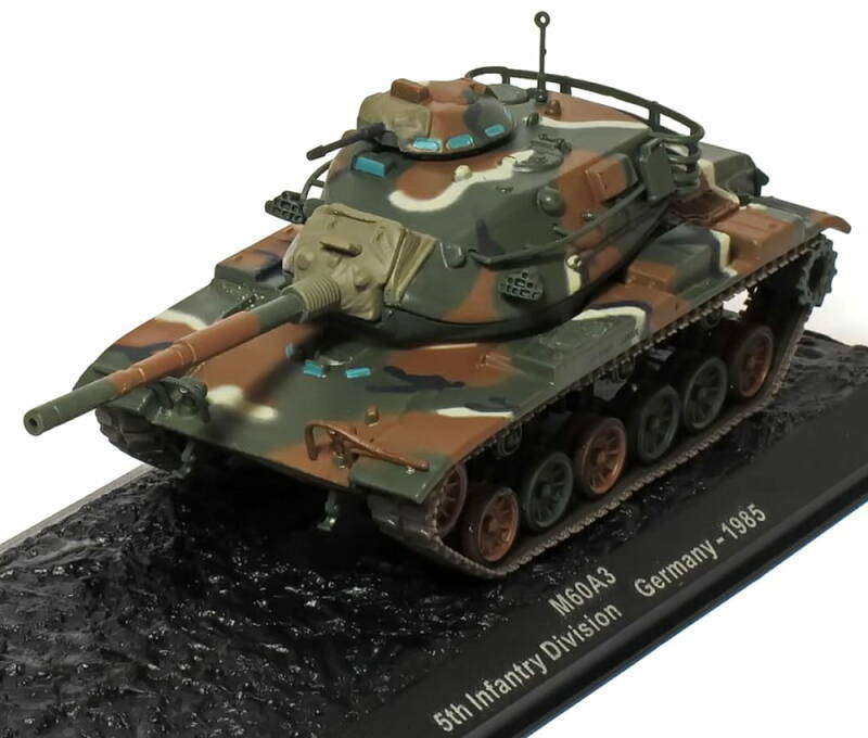 M60A3 5th Infantry Division. Germany