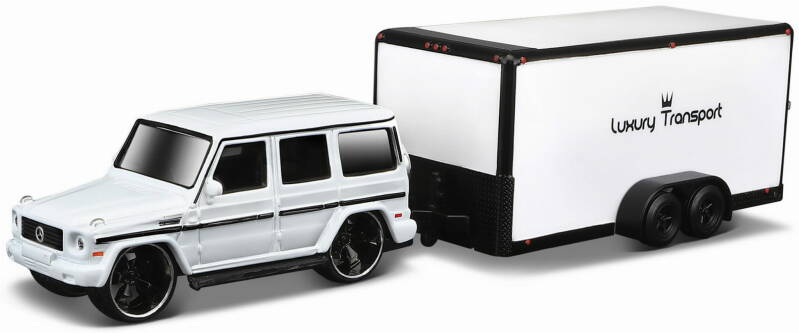 MERCEDES BENZ G-KLASSE CAR TRAILER TOW&GO